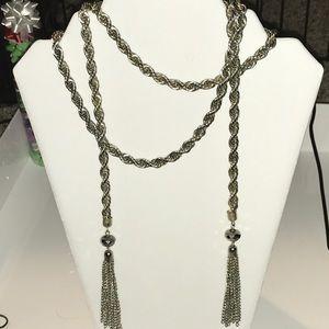 Rope necklace/belt